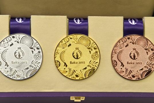 Медали Евро-2015