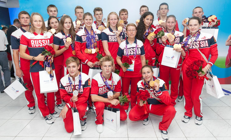 Команда России по плаванию